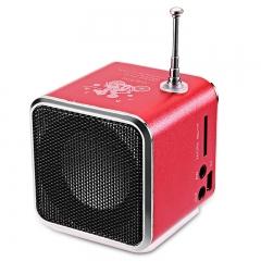 Speaker mini Music usb Player Micro SD/TF AUX Input LED computer usb speakers for smartphones kk0033