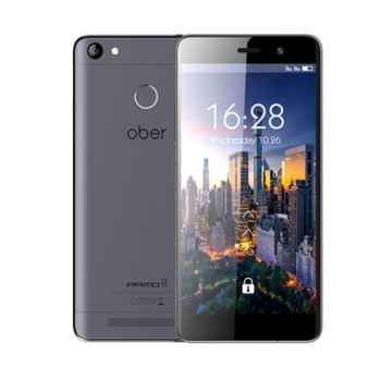 Ober mobile Primo E8 5.5inch Super 32G+3G ,5200mAh battery 4G LTE Smart phone gray color