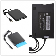"3.5"" USB External Floppy Disk Drive for PC Windows 98/ME/2000/XP/Vista/Windows 7/8/10 /MAC OS X Not Black"