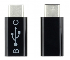 Type-c to Micro Adapter USB Type-C Interface black 26*16*12