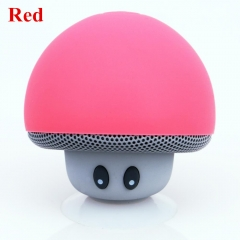 Altavoz Bluetooth Speaker Mushroom Portable Outdoor CAIXA DE SOM Altavoces Wireless Music Speaker red 5v #01