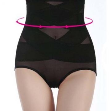 Usexy Women Shapewear Thin Mid-lumbar Abdomen Hips Shaper High Waist Corset Body Shaper black m
