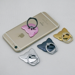 Metal Finger Buckle Intelligent Mobile Phone General Lazy Ring Buckle Paste Type Flat Stent gold