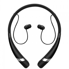 movement Bluetooth headset  Neck hanging type  stereo Support for music calls black