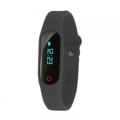 Intelligent Wristband Touch Identify Distance Step Calories Consumption Distance Sedentary Remind black one size