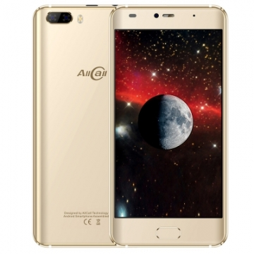 Allcall Rio 3G Smartphone - 5.0 inch - Android 7.0 Quad Core 1.3GHz - 1GB RAM & 16GB ROM gold