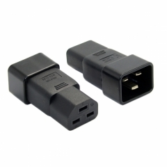 CHENYANG IEC320 C20 to C21 C19 Male to Female Extension PDU UPS Power Adapter Rated 10A 250V