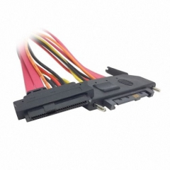 CHENYANG SFF-8482 SAS Cable 29Pin Male to Female Hard Disk DRIVE EXTENSION Cable 25cm CHENYANG CY