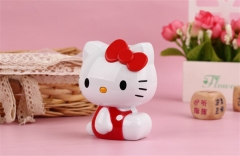 11000mAh Hello Kitty Power Bank Portable Battery Cartoon Design Charge For all Mobile Phone red 11000
