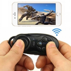 Mini Wireless Bluetooth Gamepad Game Remote Controller Shutter for IOS Android black one size