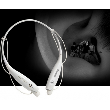 HV-800 Bluetooth Sports Headphone V4.0 Wireless Stereo Headset Neckband Style Headphone white