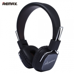 REMAX RM-100H 3.5mm Plug HiFi Headset Stereo Music Noise Reduction Earphone with Mic