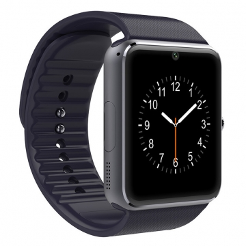 Smart Watch GT08 Phone Clock with Sim Card Slot Push Message Bluetooth WristWatch Android System gold one size