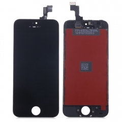 Replacement LCD Screen Assembly + Touch Glass Digitizer Phone Repair Tool Kit for iPhone 5S Black One Size