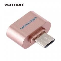 Vention A07 Series Micro USB 2.0 OTG Data Adapter for Android Smartphone / Tablet Rose Gold