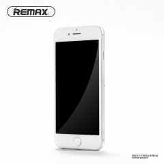 REMAX Caesar Series For iPhone6 / 6s / Plus Full Screen 3D surface steel membrane White iPhone6