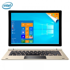 Teclast Tbook 10 S 2 in 1 Tablet PC 10.1 inch Windows 10 + Android 5.1 Intel Cherry Trail X5 Z8350 Champagne intel cherry trail