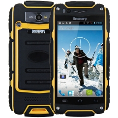 4.0 inch Discovery V8 Android 4.4 3G Smartphone MTK6572 1.0GHz  WiFi GPS Waterproof Dustproof gray