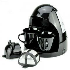 Mini Drip Coffee Maker Home Full-Automatic Coffee Machine 350W Coffee Machine AC