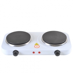 NEW-2000W-PORTABLE-ELECTRIC-TWIN-DUAL-HOT-PLATE-TABLE-TOP-DOUBLE-HOTPLATE-COOKER White As Picture
