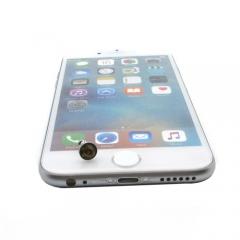 Dust Plug Stopper Universal 3.5mm Anti Dust Earphone Jack Plug Cap for Iphone7/7S/Samsung Gold 0.2* 3.5*1cm