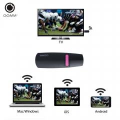 GGMM Miracast HDMI Streaming Media Player Wi-Fi Mirascreen Display Support EZCast, DLNA, Airplay 2.4G 93*31*12mm