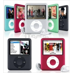 3rd Generation 8GB mp3 mp4 player with Photo Viewer E-Book Reader Voice Recorder Radio Video Movie black