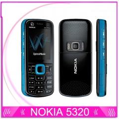 Nokia 5320 XpressMusic 3G Original Red&Blue Unlocked 2MP Camera Mobile Phone blue