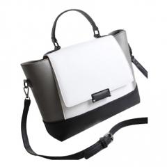Toofn Handbag 2016 New Fashion Big Handbag White White F