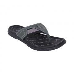 Leather Slippers Black 8