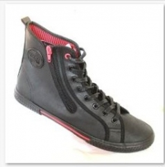 Mens Casual-Tomy Takkies-Laced Ankle Boot black 6