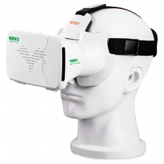 RITECH Riem III Virtual Reality 3D Head-Mounted Glasses White None One size