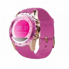 """Smart Watches KW08 With Android IOS System 1.22"""" Support SIM Card Heart Rate Bluetooth Smartwatch Pink glod"""