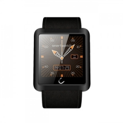 Bluetooth Smart Watch Smartwatch Sync Phone Call SMS for Samsung HTC IOS Android Smartphones Black