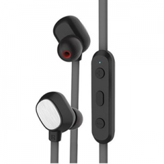 Bluetooth earphone for cell phone 4.0 pc 60 hours before independence in stereo in ear headphones Black