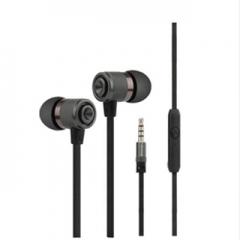 3.5mm sport headphones earphones in ear seal for samsung htc sony mp3 mp4 ipod psp xiaomi Black