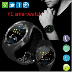 Y1 Smart Watch Support Nano SIM Card and TF Card Smartwatch Wearable For iOS Android black