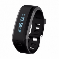 NO.1 F1 Bluetooth 4.0 Sports Smart Wristband Fitness Tracker IP68 black one size