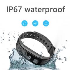 Smart Band E29 Smart Wristband Waterproof Sports Bracelet Blood Pressure Heart Rate Tracker Watch black one size