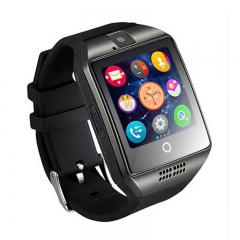 Smart Watch Q18 with Touch Screen  Camera Facebook Whatsapp Twitter Sync SMS black black