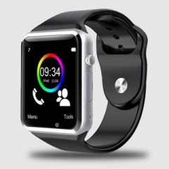 Smart Watches A1G08 2016 SIM/TF Bluetooth Sport Pedometer WristWatch Smartwatch For Infinix /Cubot black