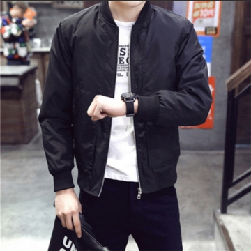 Man's fashion Jackets  Trench Coats JK003 black l