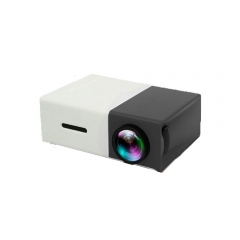 Portable Home LED Projector Projection Machine Home Cinema Theatre Office Projector black 10cm