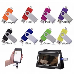 8GB/16GB Fast Speed  Usb Flash Drive for Android Smart Phone 8g black otg portable multifunctional