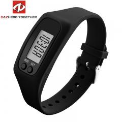 DZ unisex Outdoor Sport Watch Calorie Time Mileage Watches black