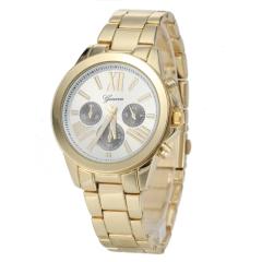 Women's Classic Fashion Alloy Quartz Watch Cool Watches Unique Watches golden