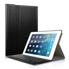 Keyboard Case for Apple iPad 5th 2017 (Model A1822 A1823) Wireless Bluetooth Protective Cover Black iPad 5th 2017