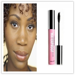 Thick Mascara Waterproof Long Curling Natural Eyelash Cream Black Mascara Eye Lashes Brush Makeup black