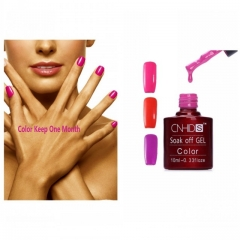 10Ml Gel Nail Polish Bright Color Long Lasting Soak Off LED Gel Polish Glitter Hot Sale(3 Colors) rose red