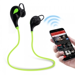 Bluetooth 4.1 Wireless Earphones Sports Headset For Running Stereo Music Earphone for Mobile Phone Green